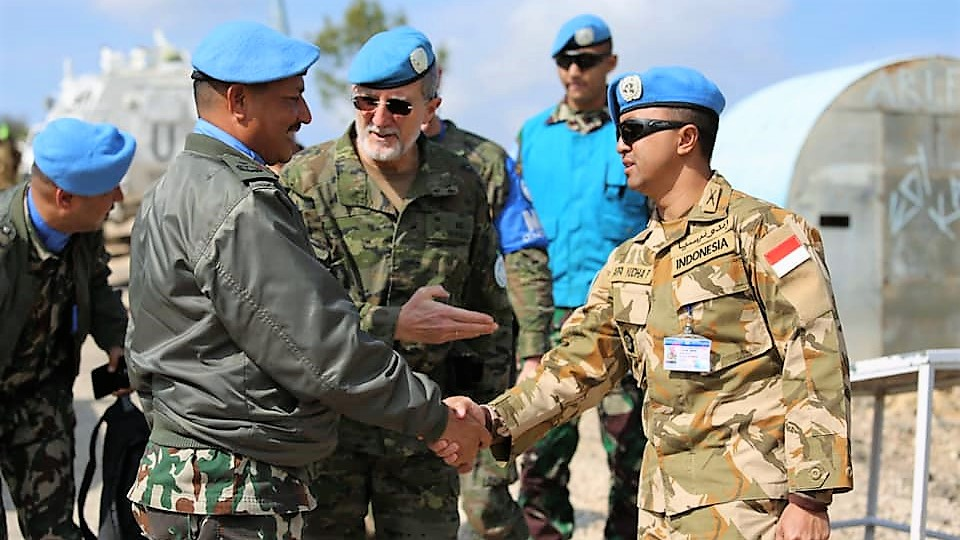 Deputy Force Commander UNIFIL Kunjungi Temporary Point 36 di Lebanon