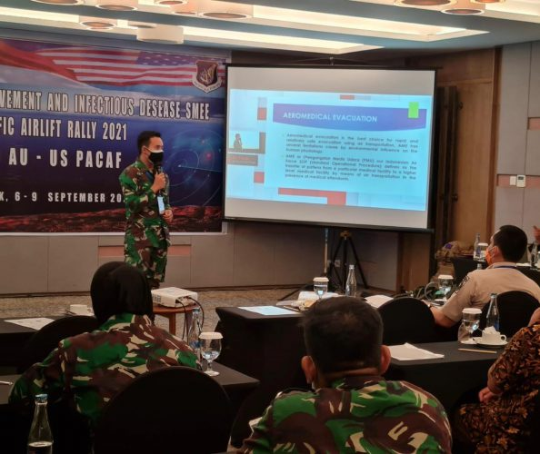 Subject Matter Expert Exchange (SMEE) Bahas Patient Movement and Infectious Disease